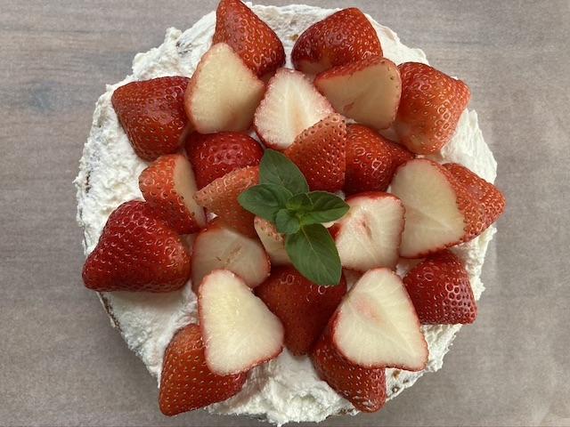 ショートケーキ レシピ