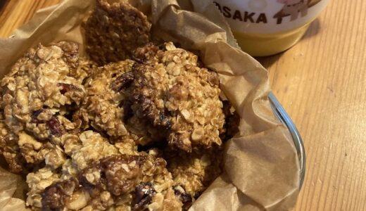 オートミールで作るドロップクッキー